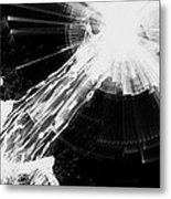 Yesterday - Black And White Metal Print