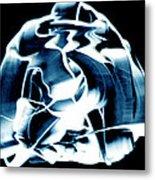 Ying Yang Paint And Photo Metal Print
