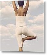 Yoga Metal Print by Joana Kruse