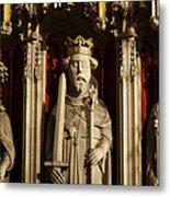York Minster's Choir Screen Metal Print
