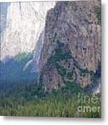 Yosemite Bridal Veil Fall Metal Print