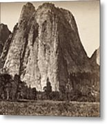 Yosemite: Cathedral Rock Metal Print