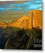 Yosemite Golden Dome Metal Print