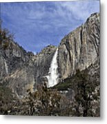 Yosemite Water Fall Metal Print