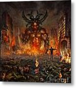 You Allow Them To Rule Our World Metal Print