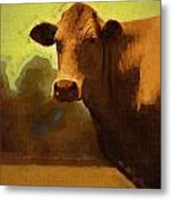 You Can Not Cow Me Metal Print