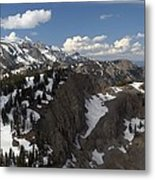 You Can See For Miles Metal Print