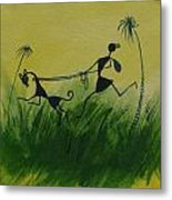 You En I In This Beautiful World Metal Print