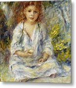 Young Algerian Girl Metal Print