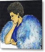 Young Billie Holiday Metal Print