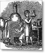 Young Chemists Metal Print