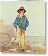 Young England - A Fisher Boy Metal Print