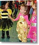 Young Friends Metal Print