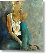 Young Girl 562190 Metal Print