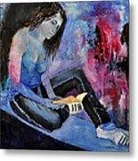 Young Girl 662160 Metal Print