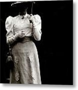Young  Lady Shady Metal Print