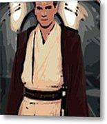 Young Obi Wan Kenobi Metal Print