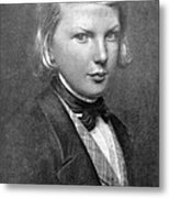 Young Victor Hugo, French Author Metal Print