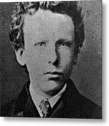 Young Vincent Van Gogh, Dutch Painter Metal Print