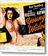 Young Widow, Jane Russell, 1946 Metal Print by Everett