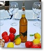 Your Table Is Ready 2 Metal Print