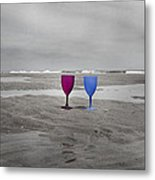 Your Wine Is Waiting Metal Print