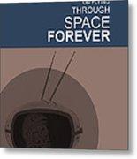 Yuri Gagarin Poster Metal Print