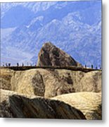 Zabriske Point Metal Print