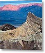 Zabriskie Point Dawn Metal Print by Jim Chamberlain