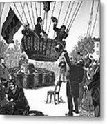 Zakharov's Balloon Flight, 1804 Metal Print by Ria Novosti