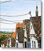 Zemun Rooftops In Belgrade Metal Print by Elena Elisseeva