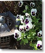 Zen Garden Metal Print