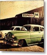 Zephyr Metal Print