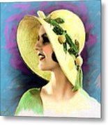 Ziegfeld Girl 031 Metal Print