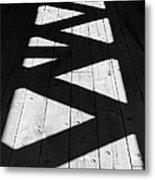 Zigzag  Metal Print by Luke Moore