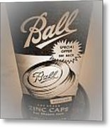 Zinc By Ball Metal Print