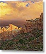 Zion National Park Sunrise II Metal Print
