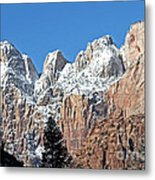 Zion Towers Metal Print
