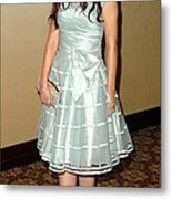 Zooey Deschanel In Attendance Metal Print