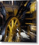 Zoom Rail Metal Print