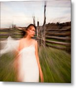 Zoom Walk Metal Print