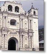 Zunil Church Guatemala Metal Print