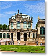 Zwinger Palace - Dresden Germany Metal Print