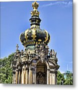 Zwinger Palace Crown Gate Metal Print