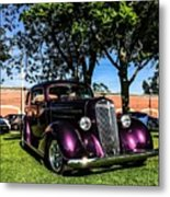 1939 Chevy Coupe Metal Print