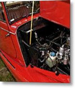 1961 Morgan Plus 4 Drophead Coupe Metal Print