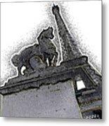 # 4 Paris France Metal Print