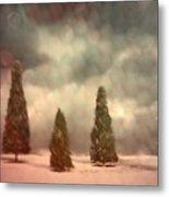 5 Pine Metal Print