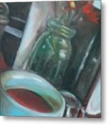 A Cup Of Joe Metal Print