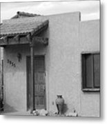 Adobe House  Metal Print